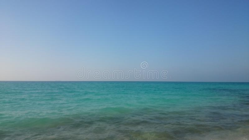Sea of north coast royalty free stock images