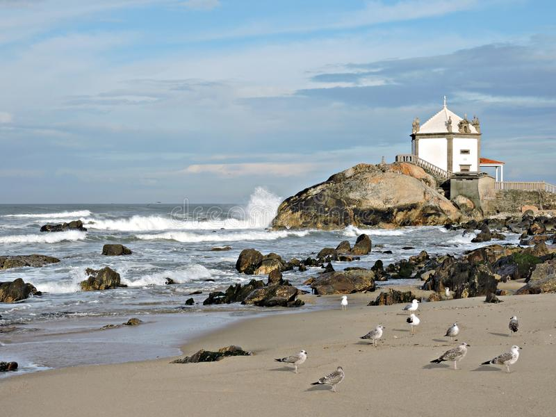 Sea and ocean, an evocative panorama stock images