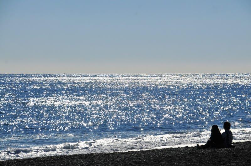 Sea, Ocean, Sky, Beach royalty free stock photos