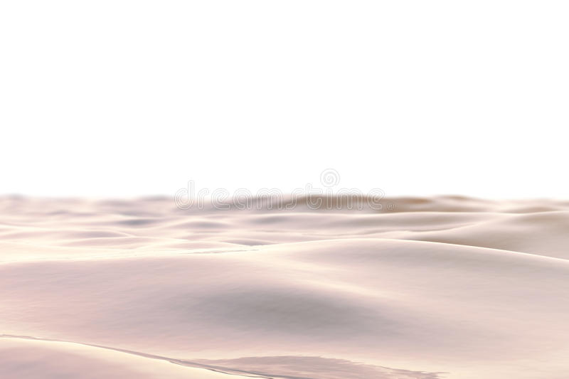 Sea, ocean wave close-up sunset, low angle view, cross processing effect. Hard focus with selective focus. 3d rendering. Sea, ocean wave close-up sunset, low vector illustration