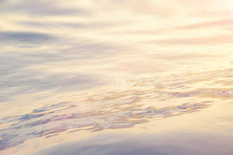 Sea, ocean wave close-up sunset, low angle view, cross processing effect. Hard focus with selective focus. 3d rendering. Sea, ocean wave close-up sunset, low royalty free stock photos
