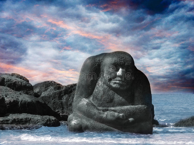 Download The Sea Ogre stock image. Image of seaside, cleveleys - 49254361
