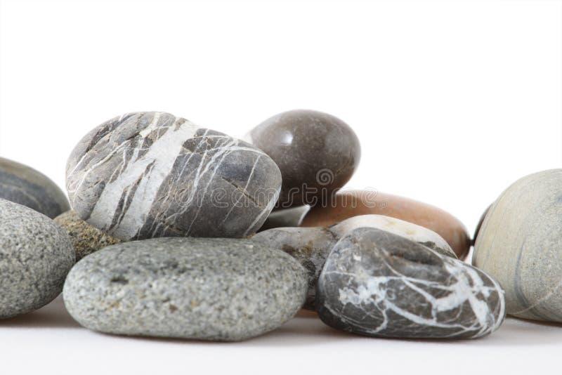 Sea pebbles royalty free stock photo