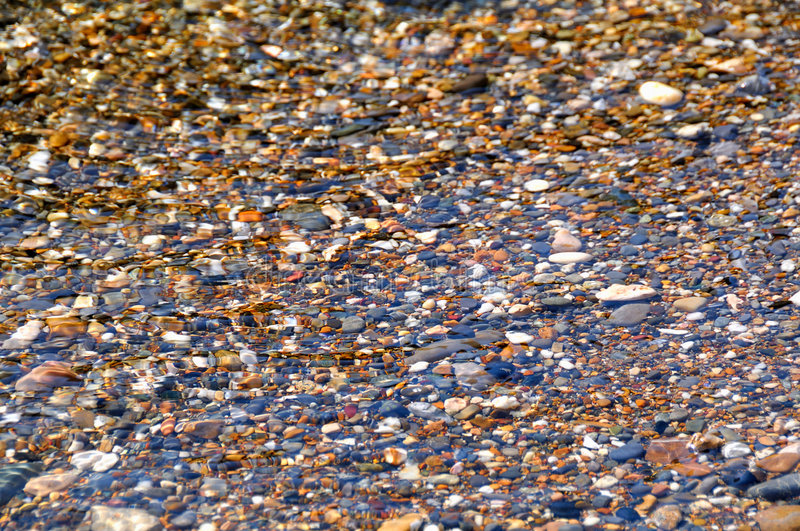 Sea Pebbles Texture. A natural texture with some sea Pebbles stock photo