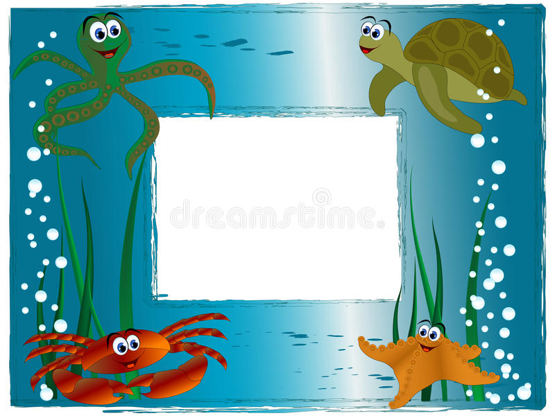 Download Sea Photo Frame Stock Photography - Image: 32786132