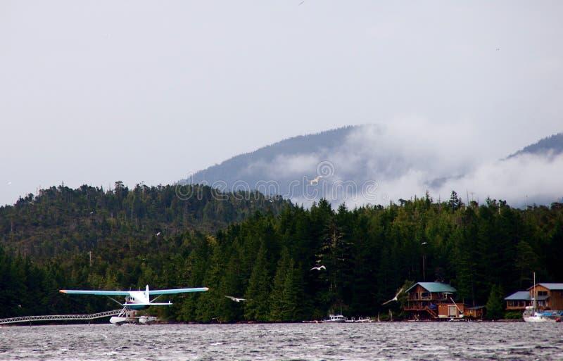 Sea Plane Takeoff royalty free stock photo