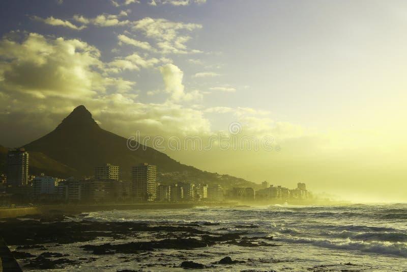 Sea Point skyline (I) stock image