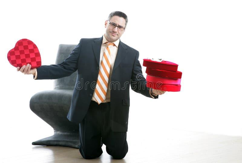 Sea por favor mi tarjeta del día de San Valentín imagen de archivo libre de regalías