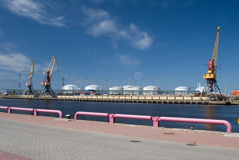 Download Sea port stock image. Image of load, tank, import, hoisting - 2556473