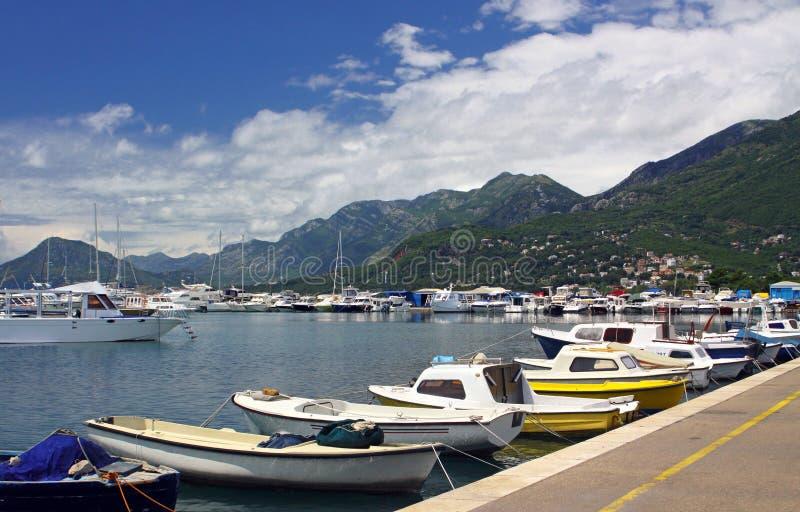 Sea Port Of Bar City Royalty Free Stock Photos