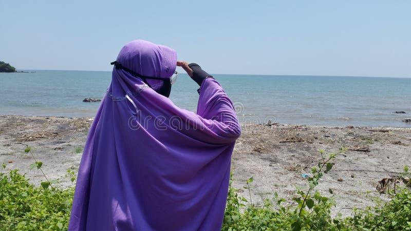 Sea, Purple, Vacation, Beach stock photos