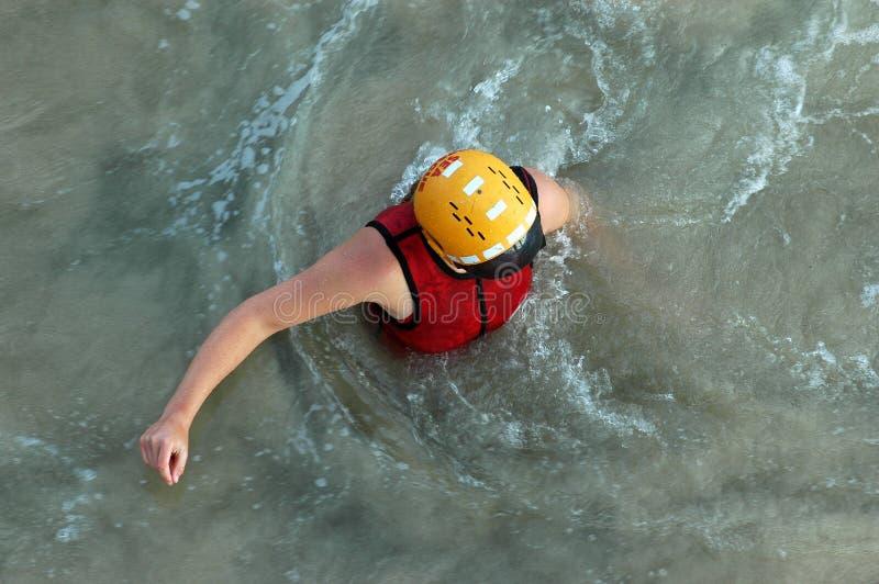 Sea rescue royalty free stock image