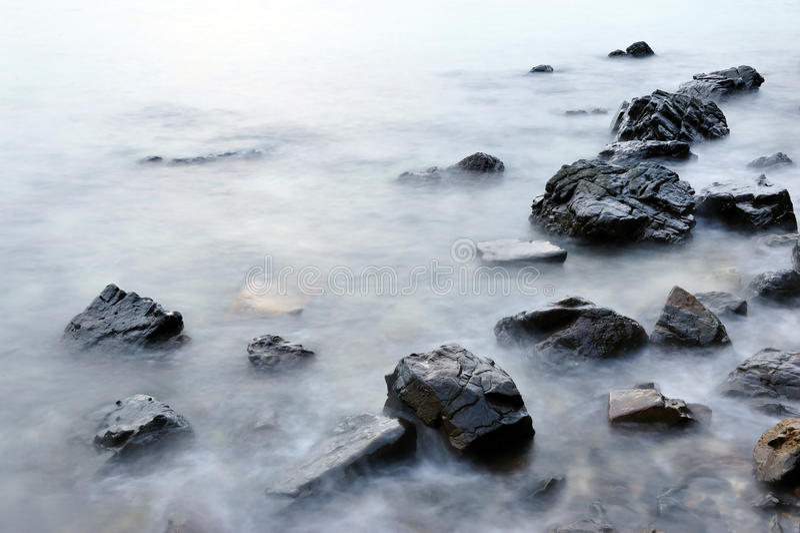 Download Sea and rock stock photo. Image of coastline, sedate - 24340846