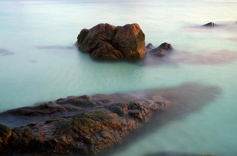 Sea and rock stock images