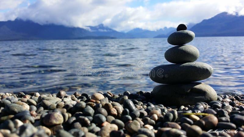 Sea, Rock, Shore, Pebble royalty free stock photos