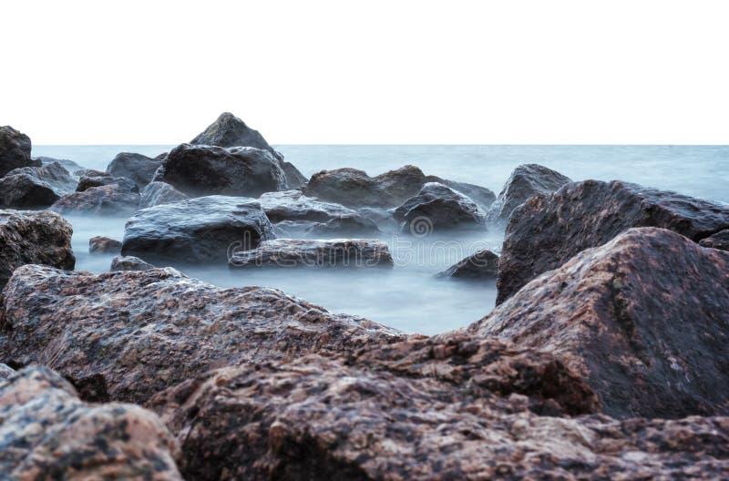 Sea And Rocks Free Public Domain Cc0 Image