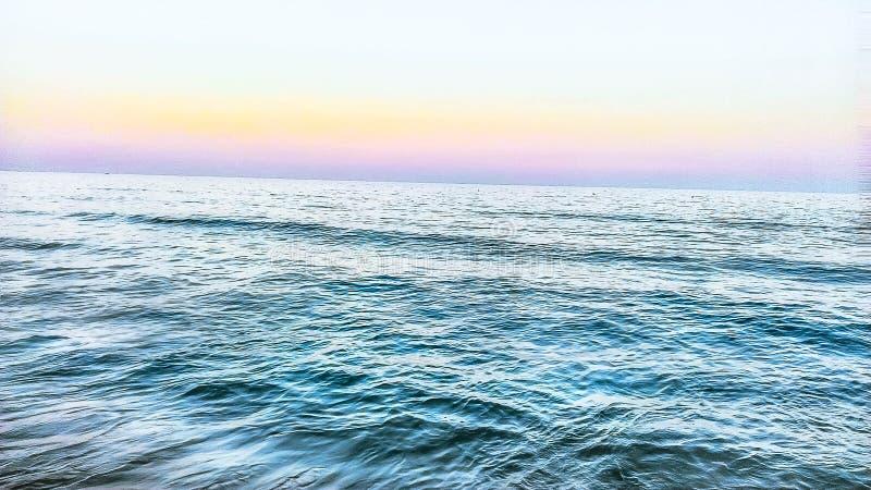 Sea& x27; s kleuren royalty-vrije stock afbeeldingen