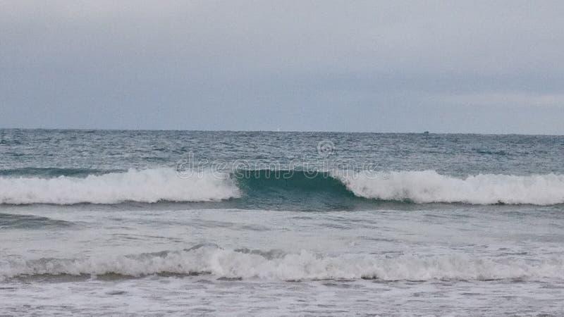 Beach of Saint Malo royalty free stock image