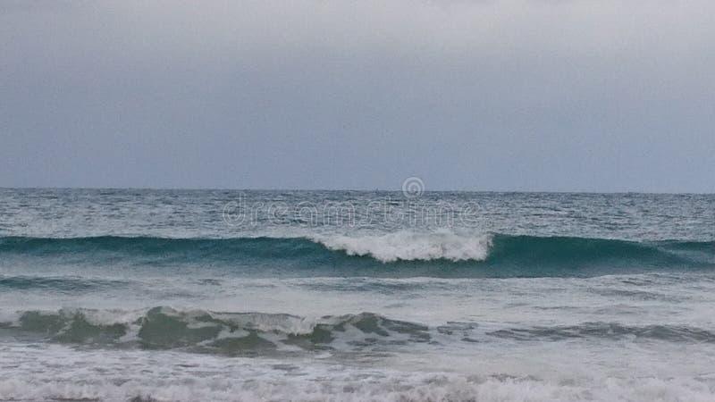 Sea in Saint Malo royalty free stock photo