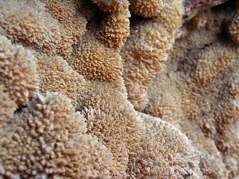 Sea Salt Crystals Royalty Free Stock Images