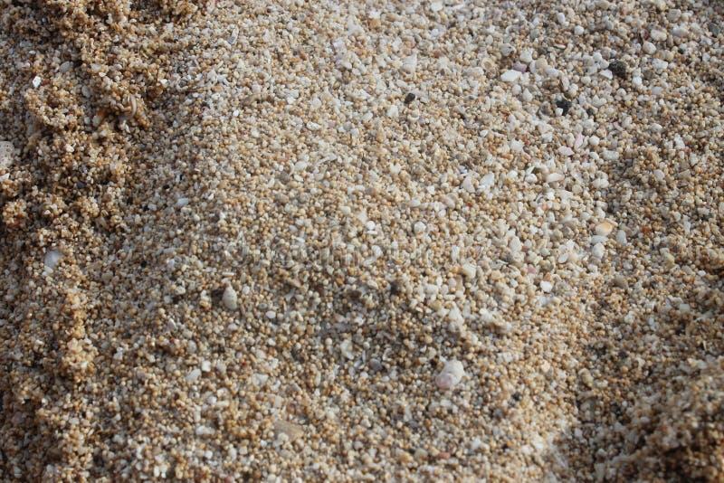 Sea sand royalty free stock photos