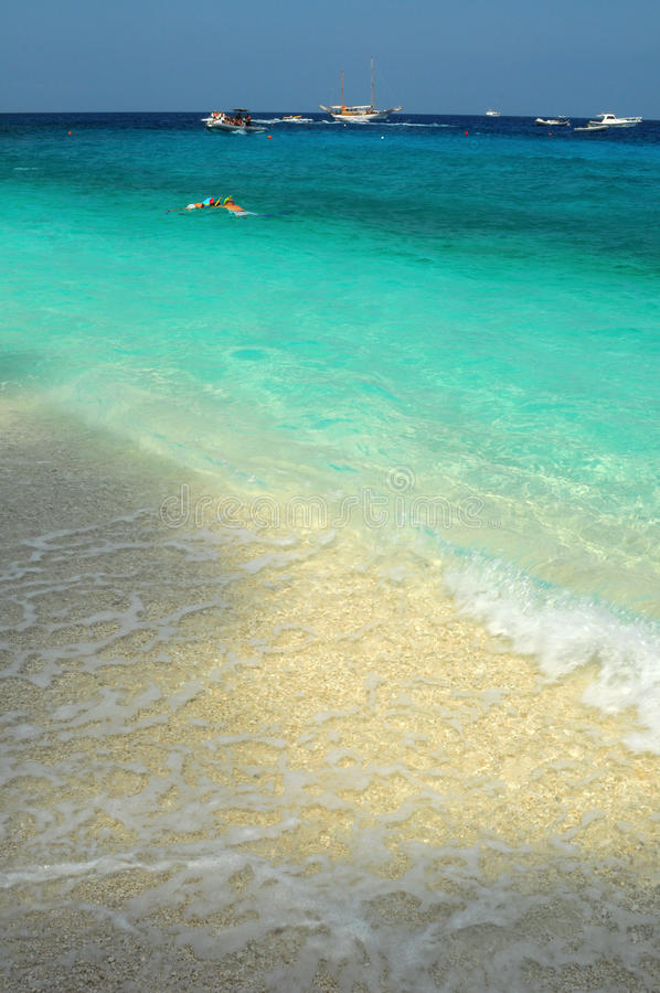 Download Sea of sardinia stock photo. Image of green, falls, blue - 10760334