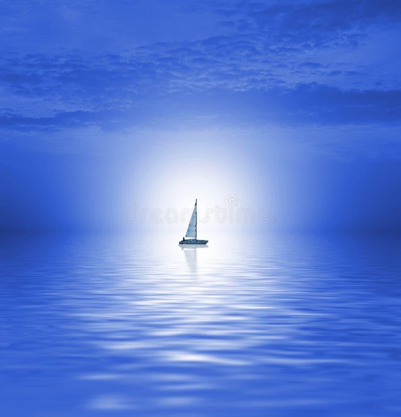 Download Sea scenic stock illustration. Image of freshness, background - 2595037
