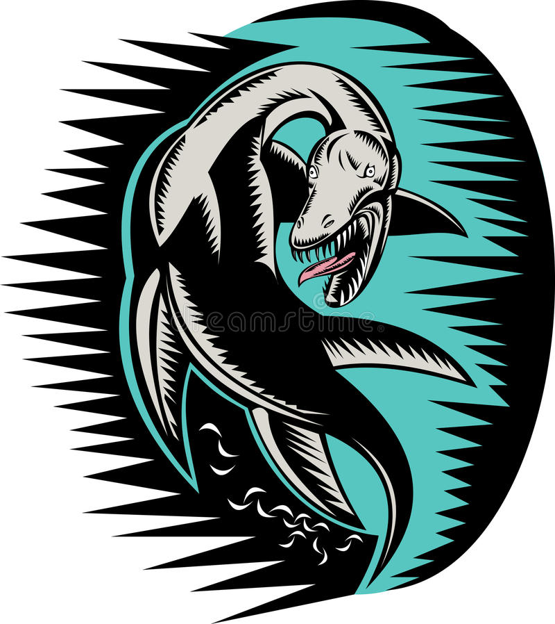 Download Sea Serpent Loch Ness Monster Stock Images - Image: 11311724