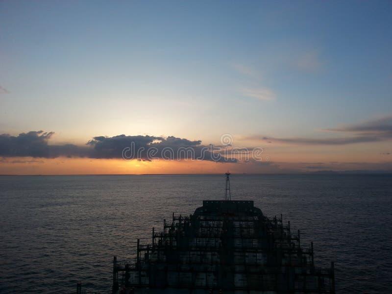 Sea shine stock images