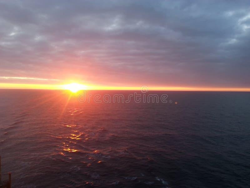 Sea shine stock photo