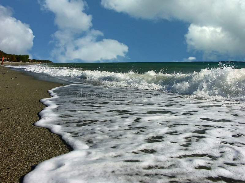 Download Sea shore stock photo. Image of blue, seasonal, sunny, nature - 108906