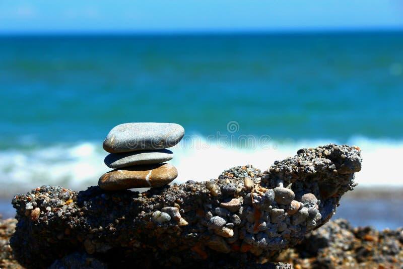 Sea, Shore, Rock, Pebble stock photo