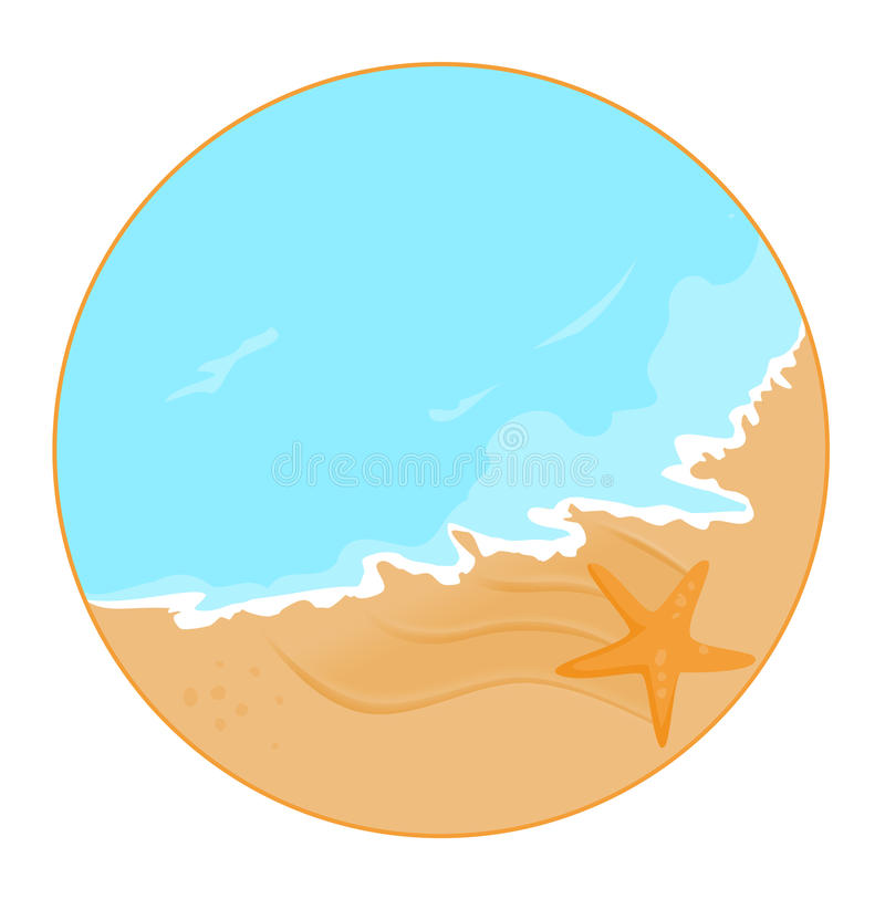 sea shore star stock illustration illustration of seashell 33111357 rh dreamstime com seashore clip art free