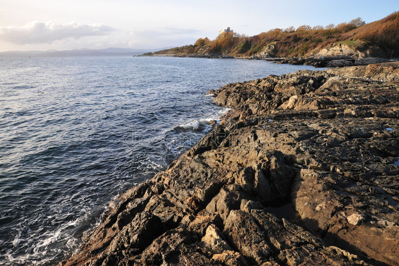 Sea And Shoreline Royalty Free Stock Image