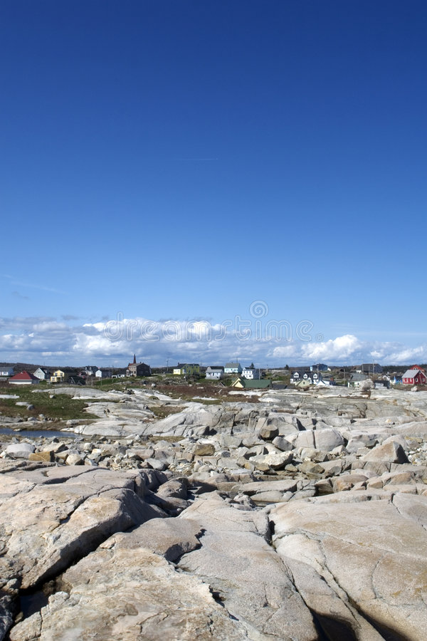 Download Sea Side Town stock image. Image of rural, fish, peggys - 5715501