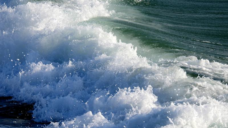 Sea sight in summer stock photography