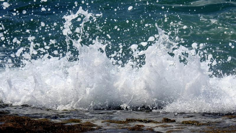 Sea sight in summer royalty free stock photography