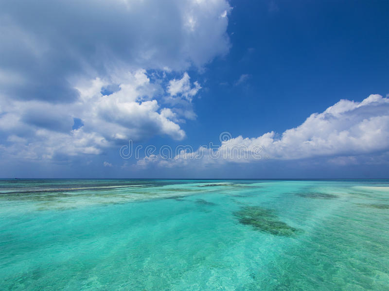 Download Sea and sky stock photo. Image of space, blue, background - 29127296