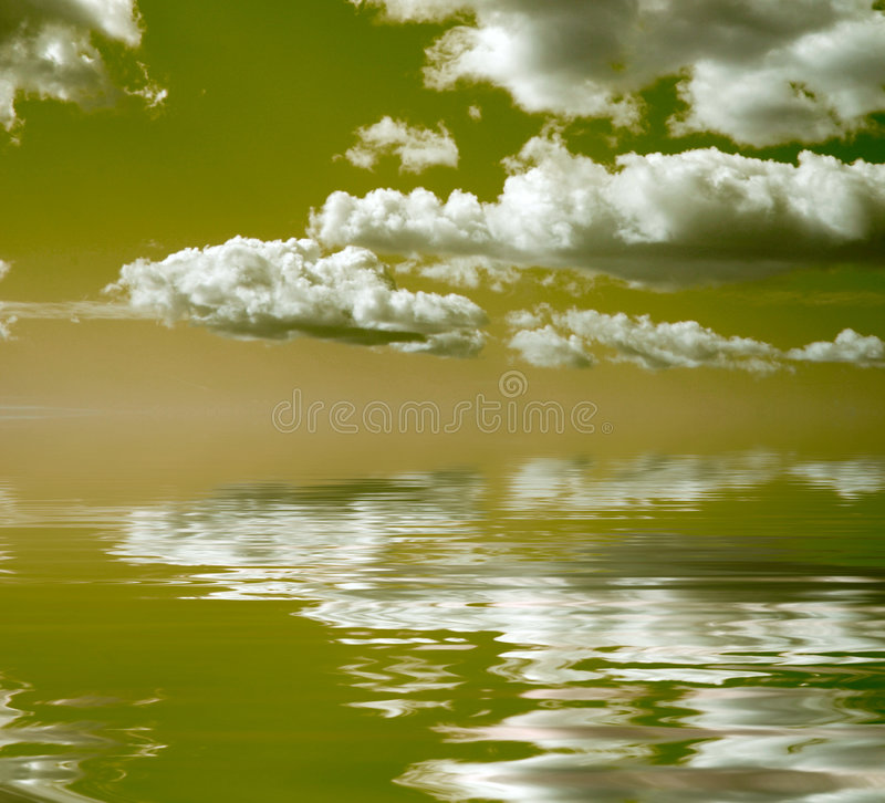 Download Sea sky stock photo. Image of cloud, reflection, light - 7621774