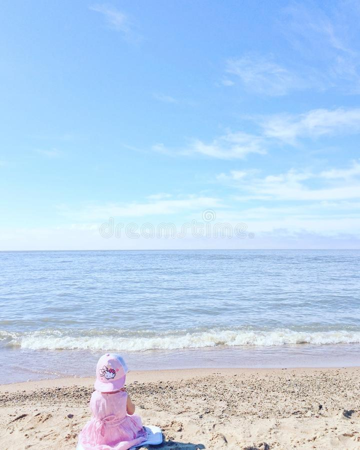 Sea, Sky, Beach, Shore royalty free stock photos