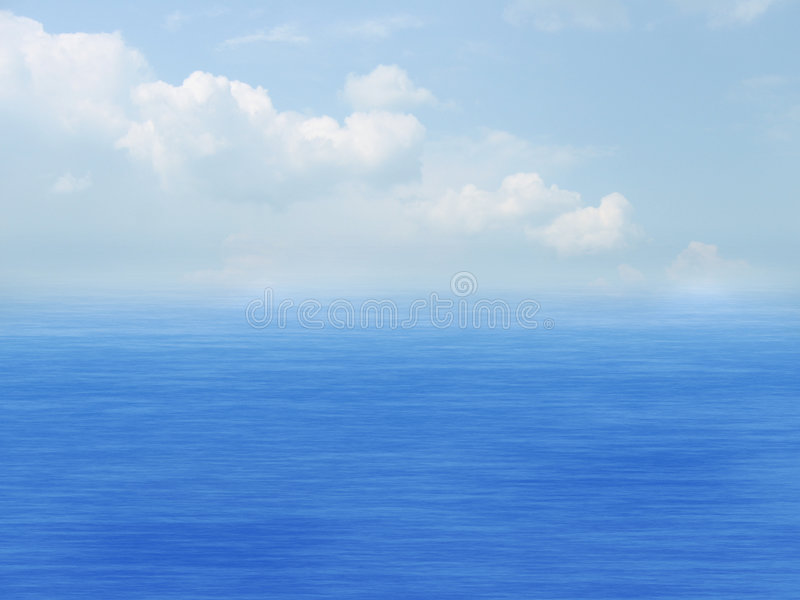 Download Sea, Sky And Clouds Royalty Free Stock Image - Image: 2705306