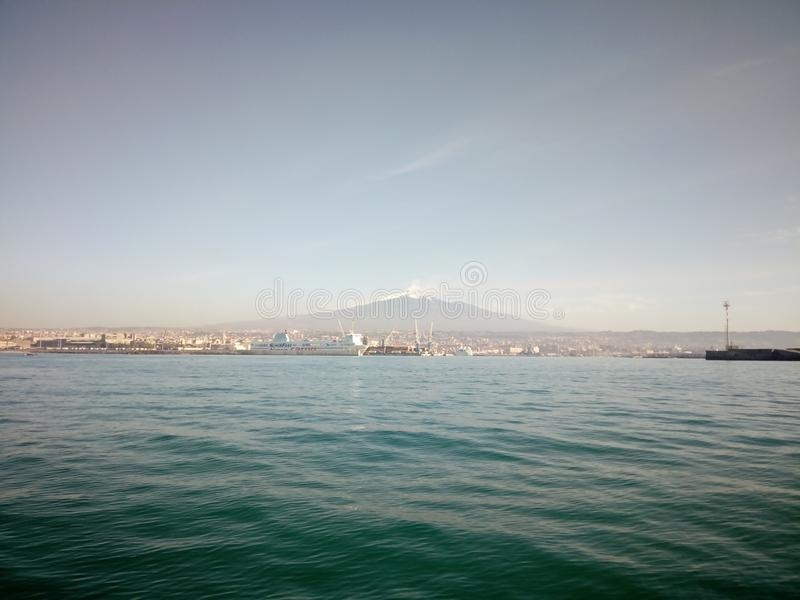Sea, Sky, Horizon, Waterway Free Public Domain Cc0 Image