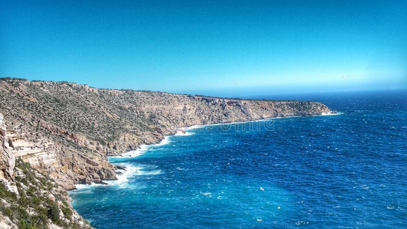 Beatiful mountain, El Toro, Palma de Mallorca ES royalty free stock photography