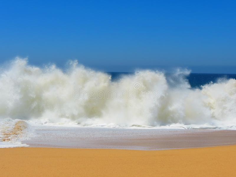 Sea, Sky, Wave, Shore stock images