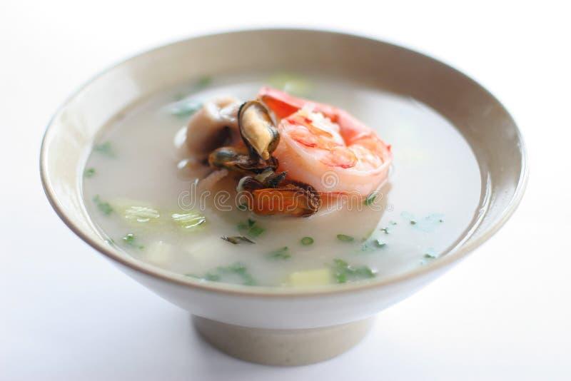 Sea soup stock image
