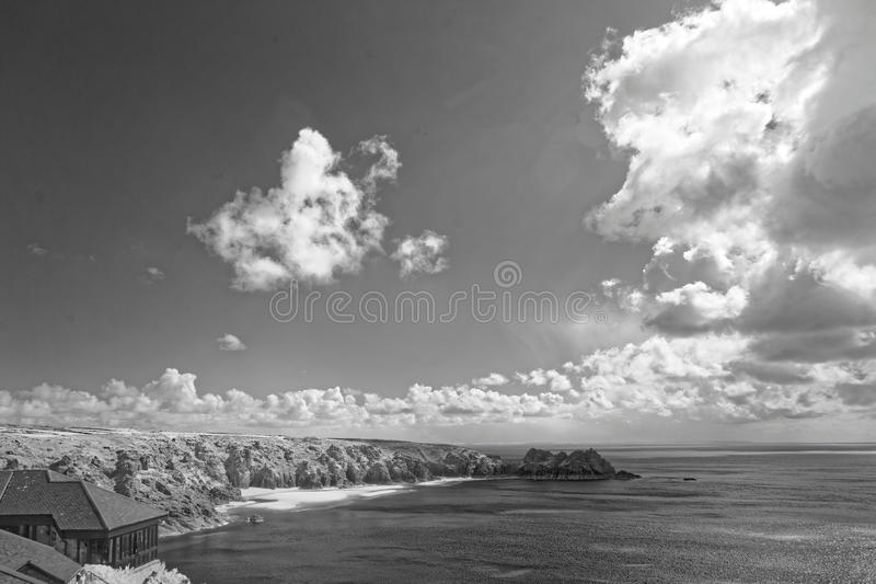 Sea of Southern England stock photography