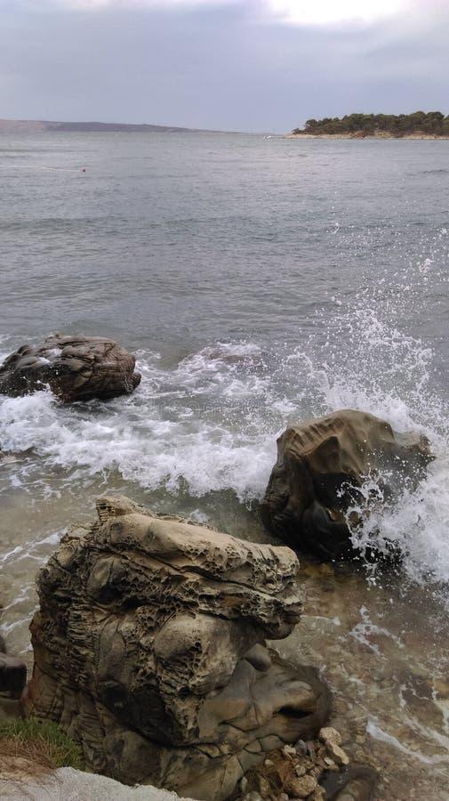 Sea splash stock images