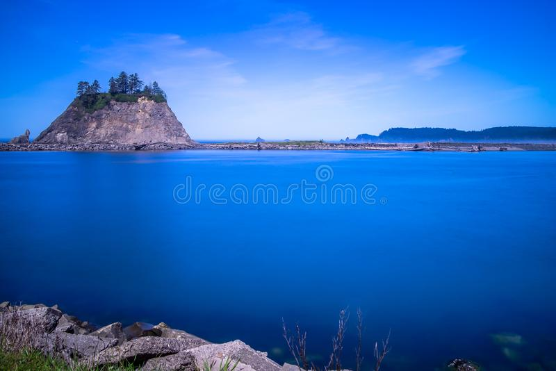 Small Islands Off The NW Coast Of The United States stock photography