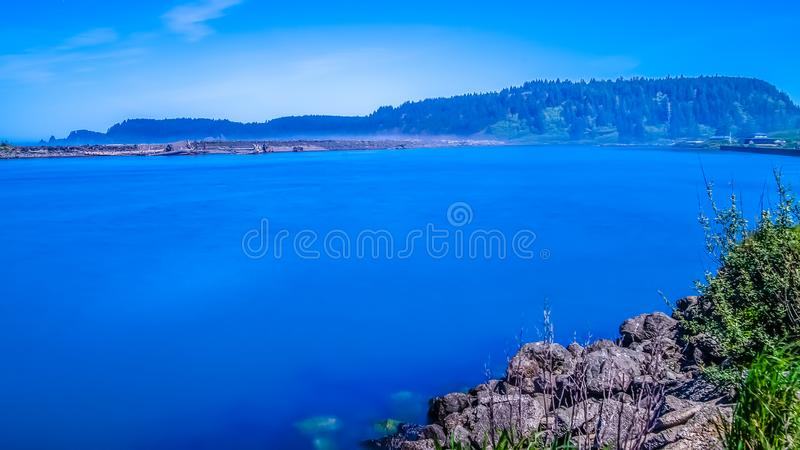 Small Islands Off The NW Coast Of The United States royalty free stock photography