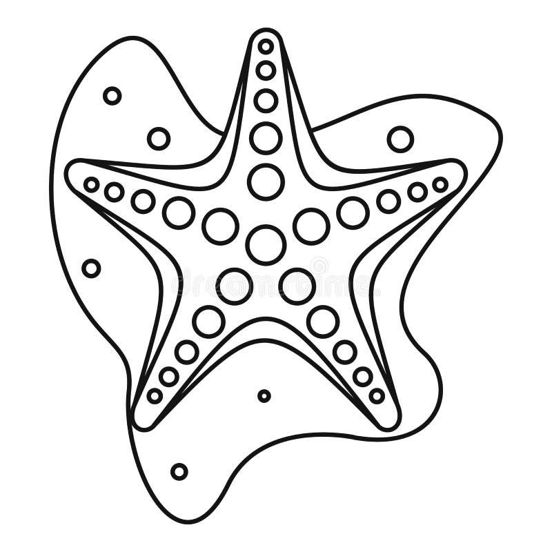 Sea star icon outline style stock vector illustration of shape download sea star icon outline style stock vector illustration of shape isolated sciox Gallery